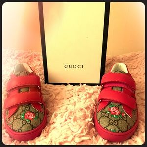 Gucci Toddler Sneakers Size 31 US 13
